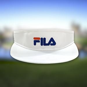 NEW NWOT VTG 90s Genuine FILA Visor Adjustable Golf Sports Hat USA Deadstock