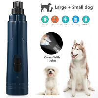 Electric Pet Nail trimmer Grinder Paws Grooming for Small Medium Large Dogs Cats