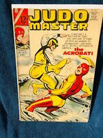 JUDO MASTER 95 F+ SCARCE CHARLTON SILVER AGE COMIC GET IT OR MAKE AN OFFER NOW!