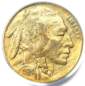 1924-S Buffalo Nickel 5C Coin - Certified PCGS VF35 - $500 Value!
