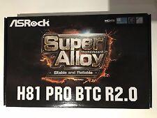 ASROCK H81 PRO BTC R2.0 Scheda madre LGA 1150 INTEL HDMI SATA 6Gb / s USB 3.0 ATX