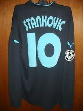 STANKOVIC LAZIO MATCH WORN ISSUE AWAY 3rd SHIRT 2003/04 INDESIT CHAMPIONS LEAGUE