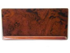 Mercedes w126 Burl Wood Console Caddy Cover NEW cubby trim panel passend