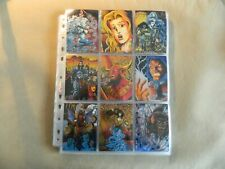 LADY DEATH CHROMIUM CARDS 1994 - CHAOS COMICS - COMPLETE TRADING CARDS SET (100)