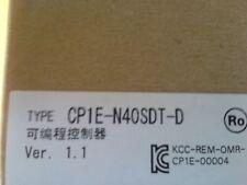 OMRON CP1E-N40SDT-D PLC