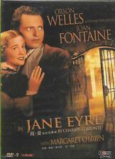 Jane Eyre DVD Orson Welles Joan Fontaine NEW R0 1943