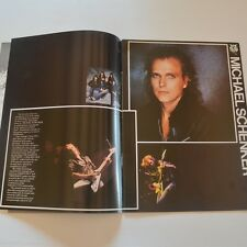 (MSG) THE MICHAEL SCHENKER GROUP -Tour programme Built to destroy UK Tour 83