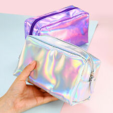 Colorful Stationery Pen Pencil Case Cosmetic Bag Travel Makeup Bag High Capacity