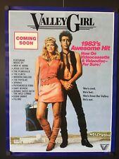 Valley Girl Vintage Movie Poster (Westron, 1983) - 18 x 24 High Grade VF