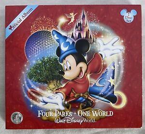 Four Parks One World 2CD Set Official WALT DISNEY • Magic Kingdom Epcot Music