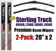Wipers 2pk Premium fit 1999-2010 Sterling Truck A9500 L7500 L8500 L9500 19200x2