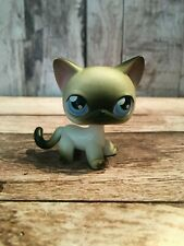 Lps Littlest Pet Shop Cat Siamese Shorthair Black White #5 3005 Hasbro Collector