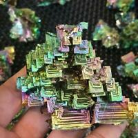 Mini Bismuth Ore Crafts Irregular Natural Bionic Mineral Collection Home Decor