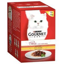 Purina Cat Food Duck Gourmet 12x 50g Pouches Box