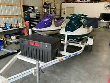 2 Seadoo Jet Skis and Trailer