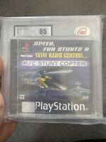 Ps1 Game Sealed R/c Stunt Copter New Graded 85 PlayStation