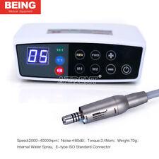 Dentale brushless LED BEING Electric Micro motore 3.4Ncm spruzzi d'acqua interne