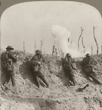 In the Firing Line at Passchendaele We Repulse Repeated Bosche Counter Attacks
