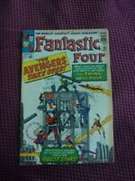 Fantastic Four 26 Very Good / Fine (5.0) - The Avengers Take Over!!!