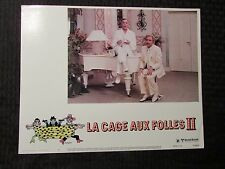"1981 LA CAGE AUX FOLLIES II 14x11"" Lobby Card #4 FVF Michel Serrault"