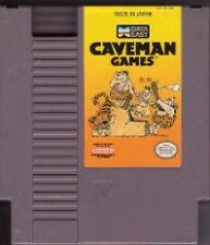 CAVEMAN GAMES ORIGINAL NINTENDO SYSTEM CLASSIC NES HQ