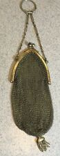 Antique 1920's Soldered Mesh Coin Purse             LS