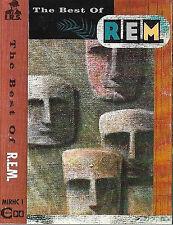 R.E.M. The Best Of REM CASSETTE ALBUM Alternative Rock Pop Rock I.R.S. MIRHC 1