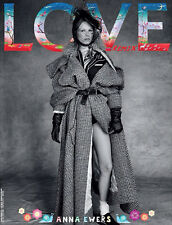 Love Magazine Remix 12,Anna Ewers by Patrick Demarchelier LIMITED TO 100 SEALED