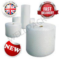 Small Large All Width All Sizes Bubble Wrap Roll - UK Made CHEAPEST Clear BUBBLE