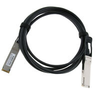 9.8ft QSFP+ SFF8436 to QSFP+ SFF8436 Ethernet Copper Cable Breakout Splitter