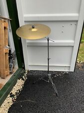 "Free P&P 20"" Paiste 302 Ride Cymbal and Disappearing Boom Cymbal Stand RCS007072"