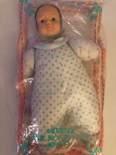 Vintage Avon BE MY BABY DOLL Cloth Doll with Bottle 1991 NOS sealed in package