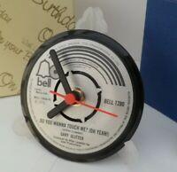 *new* GARY GLITTER VINYL RECORD CLOCK actual SINGLE RECORD CENTRE