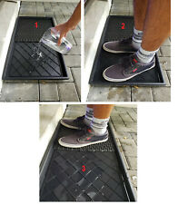 Shoe Sanitizing Entry & Exit Mat Carpet Disinfecting Dispensing @ Office Home ❤