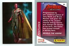 The Vision Avengers Age Of Ultron #85 - Marvel 2017 Panini Trading Card