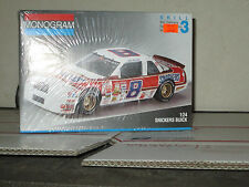 #8 SNICKERS BUICK RICK WILSON 1/24 SCALE PLASTIC MODEL KIT SEALED