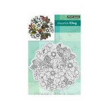 Penny Black Cling Rubber Stamp - Winter Garden 40-711