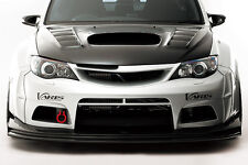 GENUINE VARIS FRONT WIDE BUMPER FRP + FRP LIP FOR SUBARU WRX STI GVB - VASU-115