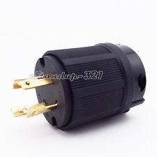 L14-30P 4 Prong Generator Locking Plug 30A 125/250V UL Approval