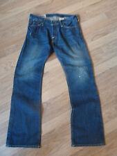 Da Uomo Abercrombie & Fitch effetto anticato stile Jeans-Taglia 30/30 ottime condizioni