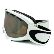 Oakley Ski Snow Goggles 02 XS 59-094 Matte White Black Iridium