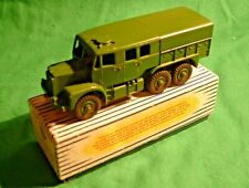 Dinky Toy. 689. Medium Artillery Tractor. Tiny amount of play wear. Fine Box.
