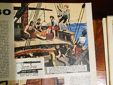 Anni '60 NINA PINTA SANTA MARIA  disegni di HUGO PRATT Inedito!!!