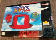 TOYS LET THE TOY WARS BEGIN NINTENDO SNES SUPER NES 16 BIT NTSC Come Nuovo