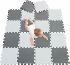 20Pcs Eva Foam Mat Soft Floor Tiles Interlocking Play Kids Baby Gym Mats 30x30cm