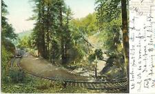 Ca Tamalpais Mount Tamalpais Railroad nearly complete Circle postcard