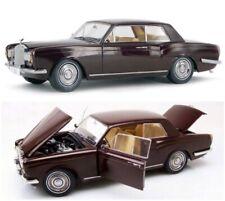 1968 ROLLS ROYCE SILVER SHADOW BURGUNDY 1/18 DIECAST CAR MODEL BY PARAGON 98204