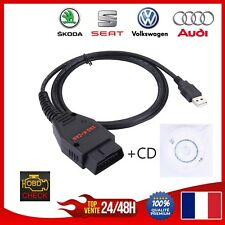 VAG K + CAN commande OBD2 1.4 Outil de diagnostic scanner  Audi / VW / Skoda