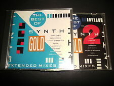 SYNTH GOLD 2 CD SET VOLUME 1 AND 2 MODE SPANDAU CRISIS ARMY BLAN JAPAN FLOCK VOX