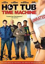 Hot Tub Time Machine DVD 2010 Unrated Version & Theatrical Version Movie
